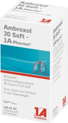 AMBROXOL 30 Saft 1A Pharma 100 ml