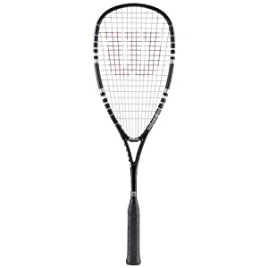 Wilson Hyper Hammer 120 PH Squash Racket + 3 x Dunlop Squash balls RRP £50