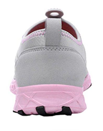 Geval Damen Schuhe Draussen Sport Wasser Mesh Atmungsaktiv Grau
