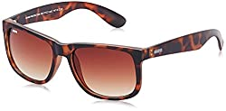 MTV Roadies Gradient Wayfarer Unisex Sunglasses - (RD-117-C3|55|Brown Color)