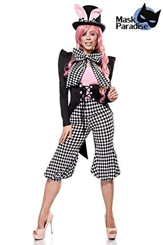 Alice Im Kostüm Verkleiden Wunderland - Mask Paradise Honey Bunny, Kostümset für Damen, Größe: L