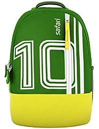 Safari 27 Ltrs Green Casual Backpack (FOOTY19CBGRN)