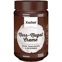 Xucker Nuss-Nougat-Creme ohne Zuckerzusatz und Palmöl, mit Xylit, im Glas, 1er Pack (1 x 300 g)