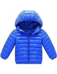 JiaMeng Chaqueta de algodón Abrigo con Capucha otoño Invierno cálido niños Ropa De Algodón Engrosamiento Chaqueta