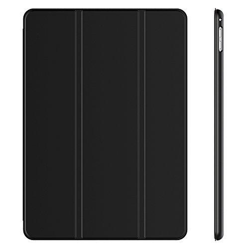 JETech 3370- Hülle für Apple iPad Pro 9,7, Schutzhülle mit Ständer Funktion und Auto Einschlafen/Aufwachen, Schwarz