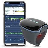 ViATOM-monitor voor zuurstofverzadiging, slaapzuurstofmonitor, s nachts voor het volgen van laag SpO2-niveau en hartslag, gra