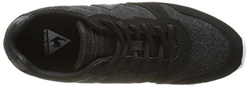 Le Coq Sportif Damen Sigma Glitter Sneakers Schwarz (BlackBlack)