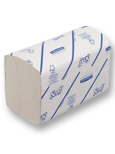 Scott 6669Xtra Handtücher, i-fold, 1-lagig, 240Blatt, weiß (15Stück) (Papier-handtuch-refill)