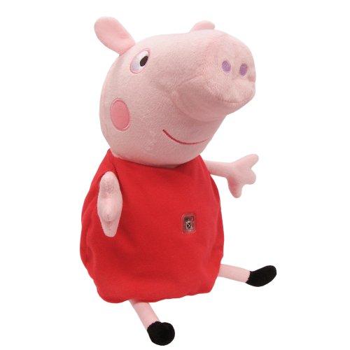 Peppa Pig Peluche interactivo con tablet (Bandai 84268)