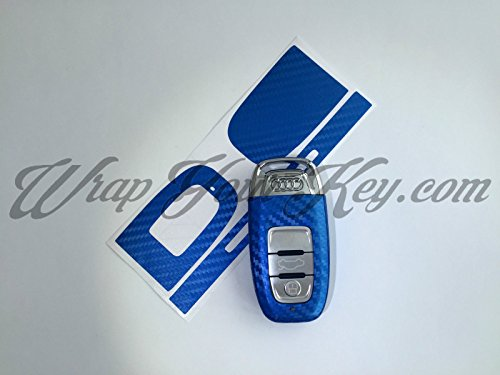 blue-carbon-fiber-key-wrap-cover-audi-smart-remote-a1-a3-a4-a5-a6-a8-tt-q3-5-q7