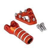 EXC 525 KTM estremità del manubrio protezione Arancione KTM EXC 500 UI EXC 530 EXC 520