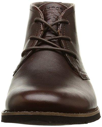 Rockport Ledge Hill Too, Bottes Classiques homme Marron (dark Brown)