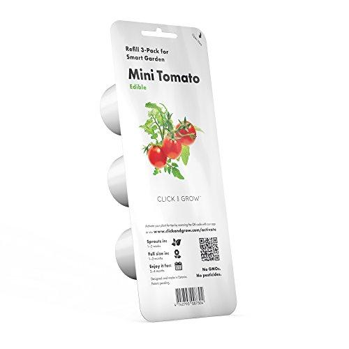 Click & Grow recharges pour jardinière Smart Herb Garden Mini-tomates Pack de 3
