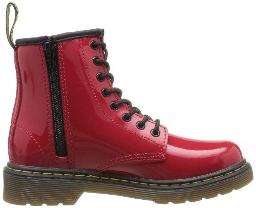 Airwalk - Stivali Delaney, Unisex bambini Rosso (Red Patent Lamper)