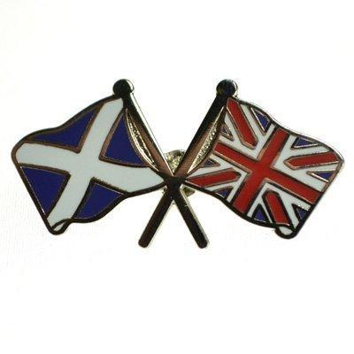 Unione Jack-Croce di Sant'Andrea Amicizia Bandiera Perno Distintivo - British-Scozia-St Andrews - Andrews Croce