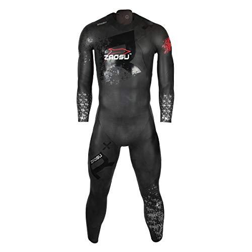 ZAOSU Herren Neoprenanzug Racing + | Triathlon Wetsuit fürs Freiwasser Schwimmen und Wettkämpfe, Größe:M