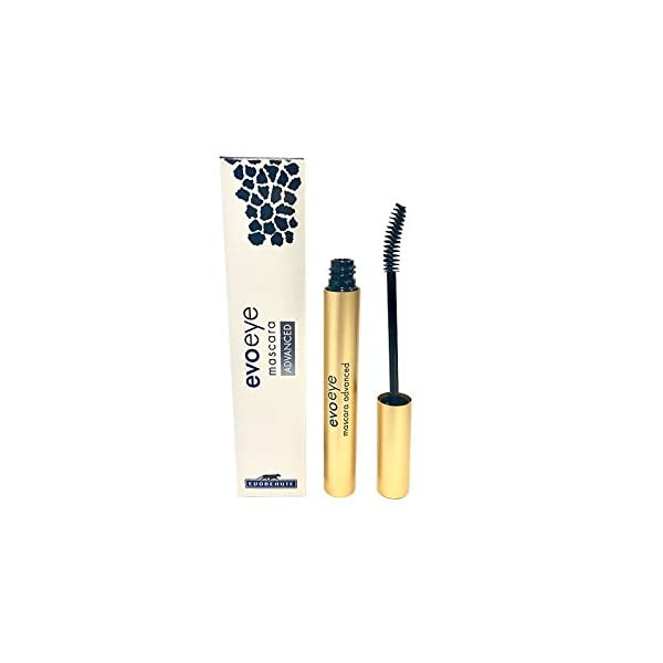 Evoeye Mascara Advance – (1x5ml) – Contiene serum para el crecimiento de las pestañas