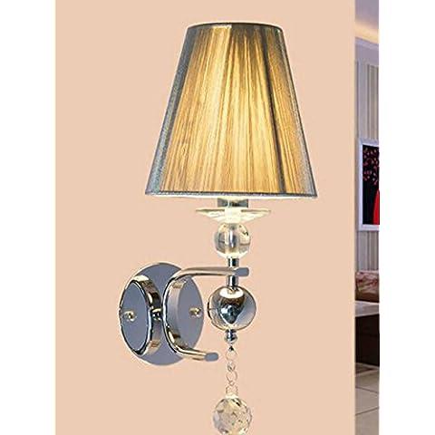 SSBY Lampara de noche Hotel tendencia elegante, minimalista, pared de dormitorio de lámpara de pétalos, solo aplique
