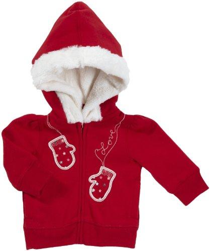 OshKosh B'Gosh Jacke mit Kapuze 92/98 rot Mädchen Übergangsjacke Sweatjacke USA Size 3 t Oshkosh Usa-sweatshirt
