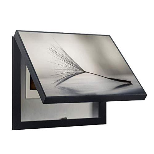 LITING Caja de medidor eléctrico Pintura Decorativa Caja vacía Pintura Colgante Desmontable...