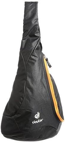 Deuter Unisex Rucksack Tommy S, black/orange, 36 x 31 x 12 cm, 5 Liter, 8120379000