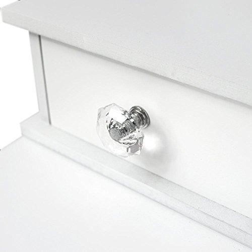 Generic A1. num. 6467. Cry. 1.. Schminktisch 5drawer G Tisch Spiegel Schlafzimmer OL Deut Make-up Schreibtisch Droom Hocker weiß DRE Dresser.. NV _ 1001006467-wruk23