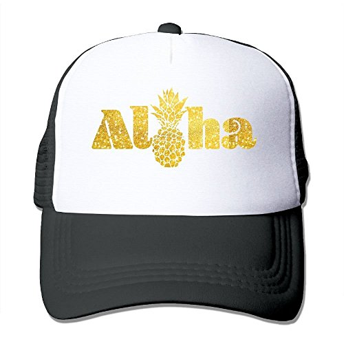 Aloha Pineapple Mesh Womens Classic Trucker Baseball Hats (Aloha-snap)