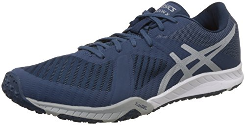 ASICS Men's Weldon X Dark Mid Grey/Smoke Blue Multisport Training Shoes - 7 UK/India (41.5 EU)(8 US)(S707N.4996)