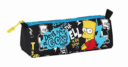 Safta Simpsons Estuches, 21 cm, Multicolor