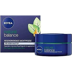 Nivea – Visage pure and natural, crema de noche regeneradora facial (50 ml)