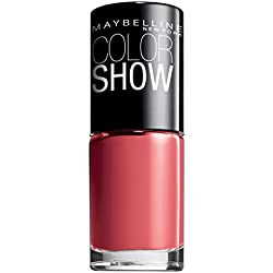 Maybelline New York Color Show Esmalte de Uñas, Tono: Color Show 342 Coral Craze