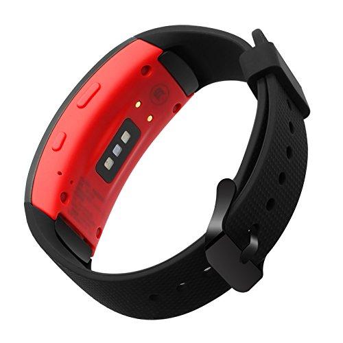 TRUMiRR Gear Fit 2 Correa de Reloj, Pulsera de Silicona con Correa de Silicona para muñeca Samsung Gear Fit 2 SM-R360 / Fit 2 Pro SM-R365 Reloj Inteligente
