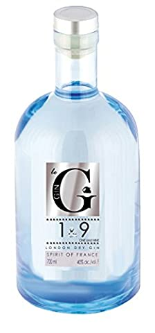 Le G 1 & 9 Premium French Gin, 70 cl