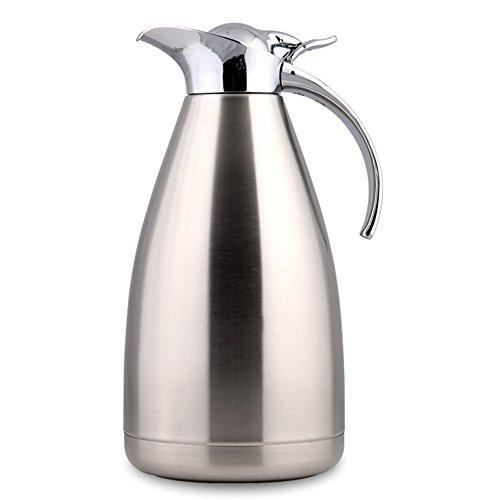 Haosen acciaio inox isolamento a vuoto caffettiera tuffatore del caffè Teiere e caraffe per caffè 1.5L