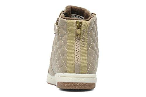 Geox J Creamy B, Sneaker bambina Taupe