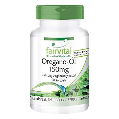 Aceite Orégano 150mg - Origanum vulgare extracto