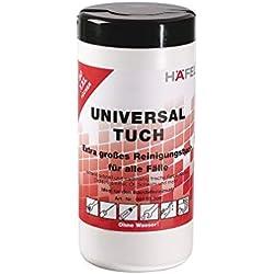 Gedotec Industrie Reinigungstücher Universaltuch Big Wipes Clean It All | 80 Tücher | zum Reinigen von Öl, Fett, Benzin, Tinte uvm. | 1 Box