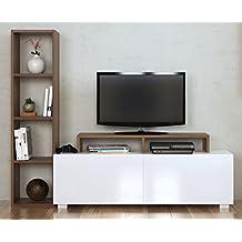 suchergebnis auf f r lowboard nussbaum. Black Bedroom Furniture Sets. Home Design Ideas