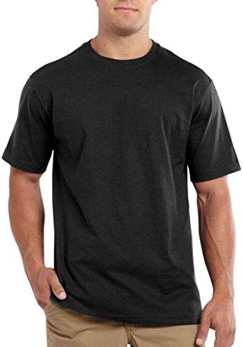 Maddock T-Shirt - Farbe: Black - Größe: L (Herren Kurze Arbeit Carhartt)