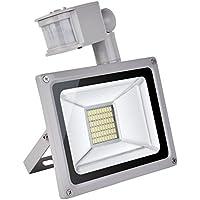 CSHITO Foco Proyector las Lámparas de Iluminación LED al Aire Libre con Sensor de Movimiento