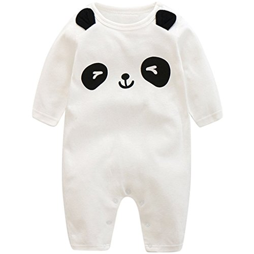Yezelend Baby Strampler Jungen Mädchen Schlafanzug Baumwolle Overalls -