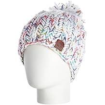 Roxy Nola Beanie - Gorro para mujer, color blanco, talla única
