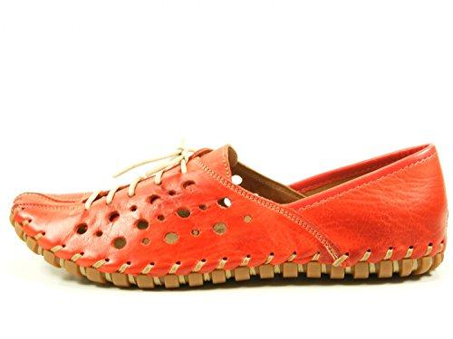 à Gemini 02 femme lacets Rouge chaussures 31210 00wqatC
