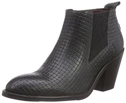 Marc O'Polo Chelsea Boot, Stivaletti a gamba corta mod. Chelsea, imbottitura leggera donna, Grigio (Grau (930 dark grey)), 37 1/3