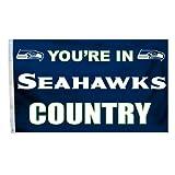 Fremont Die NFL 91,4 x 152,4 cm Fahne mit Ösen, Polyester, In Country, 3' x 5'