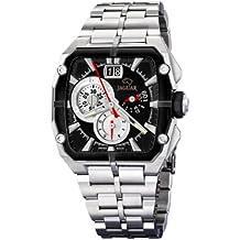 Jaguar 636/2 - Reloj de caballero de cuarzo, correa de acero inoxidable color plata