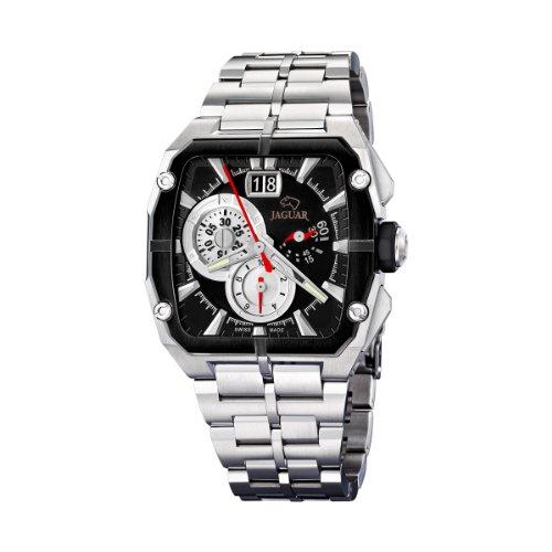 Jaguar - J636/2 - Montre Homme - Quartz - Chronographe - Bracelet Acier inoxydable Argent