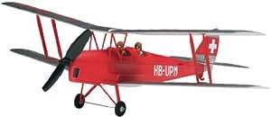Flyzone - Flza2060 - Modélisme - Aviation - Micro De Havilland Tiger Moth Rtf