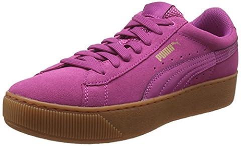 Puma Damen Vikky Platform Sneakers, Pink (Rose Violet-Rose Violet 04), 39 EU