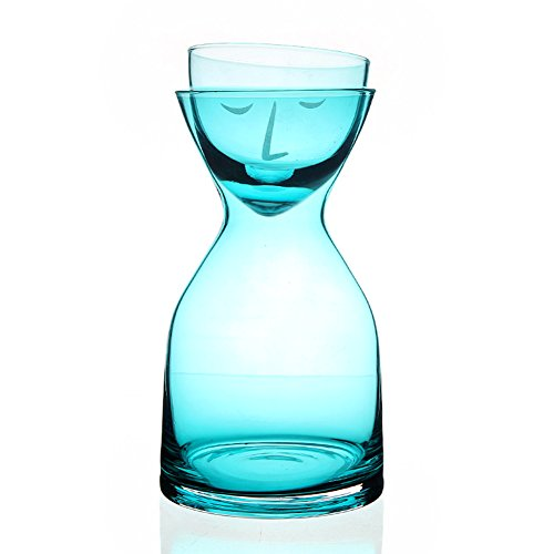 hansoul elegante transparente resistente Attractive Smile cristal eleg